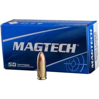 9mm Luger Magtech FMJ 115 grs - 50Stk