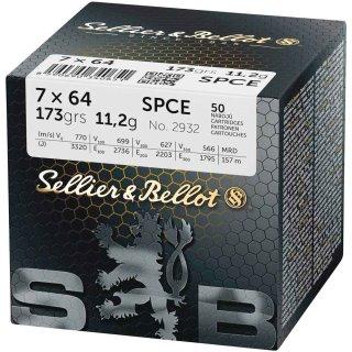 7x64 S&B SPCE 173 grs. 50Stk