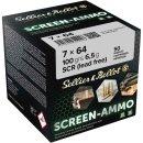 7x64 S&B Screen-Ammo SCR Zink 100grs. 50Stk