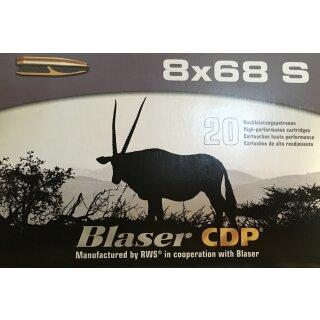 8x68S Blaser CDP 196grs. 20Stk