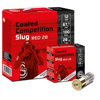 12/67,5 Geco Slugs Red 28 Coated Competition