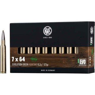 7x64 RWS Evo Green 127grs - 20Stk