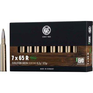 7x65R RWS Evo Green 127grs.- 20Stk