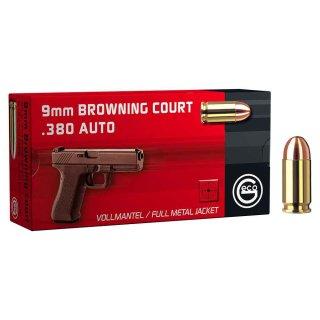 9mm Browning kurz Geco FMJ 95grs. - 50 Stk
