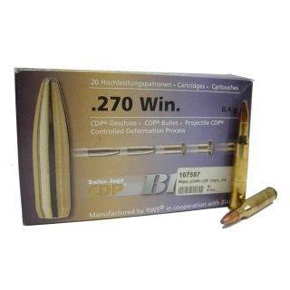 .270 Win Blaser CDP 130grs - 20 Stk