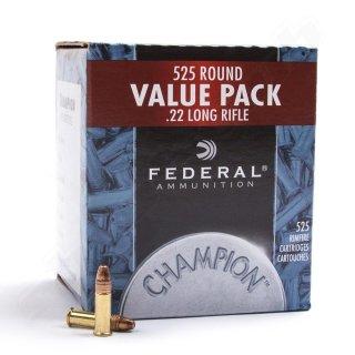 .22 lfb. Federal Ammunition Champion Hollow Point 36 grs - 500Stk