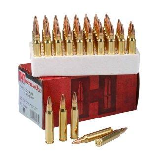 .223 Rem. Hornady Match BTHP 52grs. 50 Stk