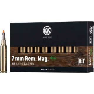 7mm Rem. Magnum HIT 140 grs. - 20 Stk