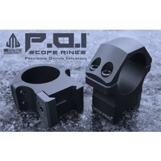 UTG Pro P.O.I. Montageringe 30mm Medium Profile