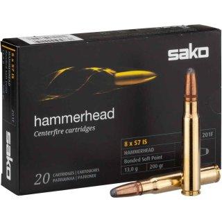 8x57IS Sako Hammerhead SP 200grs. - 20 Stk