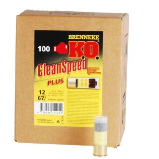 12/67,5 Brenneke K.O. CleanSpeed Plus für Selbstladeflinten