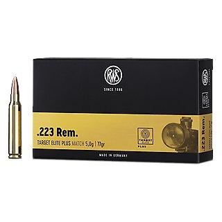 .223 Rem. RWS Target Elite Plus 52grs. 20Stk