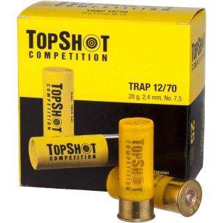 12/70 TopShot Trap 28 - 28 gr. 2,4mm 25Stk