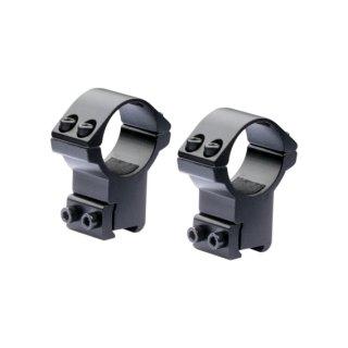 Nikko Stirling - ZF Ringe - 25,4 mm für 11mm Schiene - High
