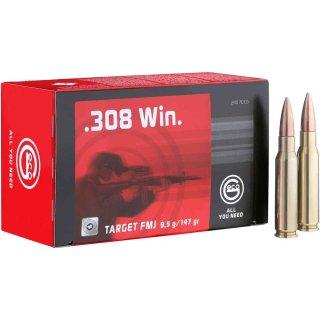 .308 Win. Geco Target FMJ 147grs. - 50Stk