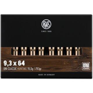 9,3x64 RWS UNI CLASSIC 293grs.- 20Stk