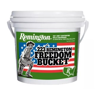 .223 Rem. Remington Freedom Bucket 55grs - 300Stk