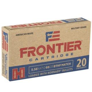 .223 Rem. Frontier BTHP- Match 68 grs. Hornady Geschoss 20Stk