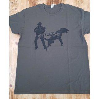 hs-arms Motiv T-Shirt NACHSUCHE