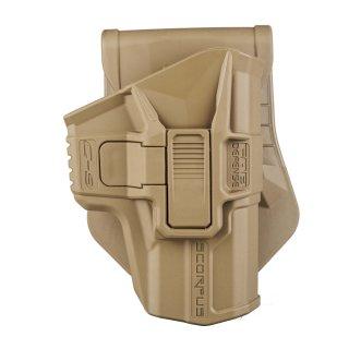 FAB Defense - Holster Level 2 Scorpus FDE (sand)