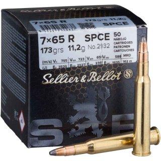 7x65R S&B SPCE 173grs. - 50Stk