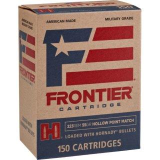 .223 Rem. Frontier HP- Match 55 grs. Hornady Geschoss 150Stk
