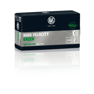 .22 lfb RWS High Velocity Green 24grs - 50Stk