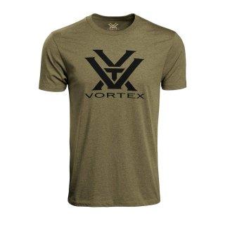 Vortex Core Logo Shirt Military (oliv)