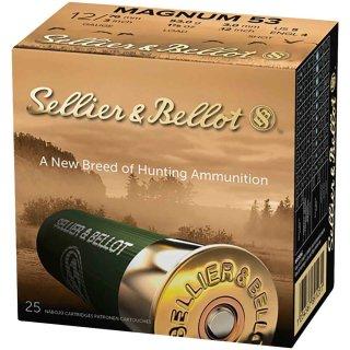 12/76 S&B Jagd Plastik Magnum 53g - 3,0mm - 25Stk