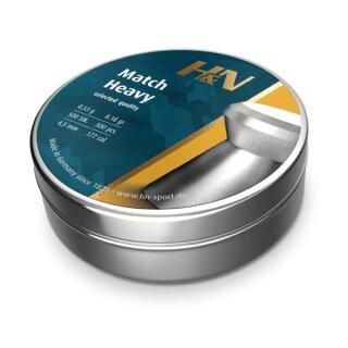 H&N Diabolo Match Heavy 4,5mm (.177)