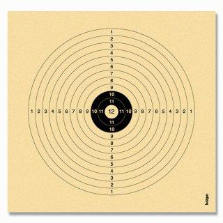Luftgewehrscheibe 14 x 13,5