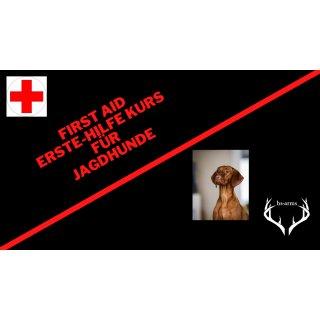 Erste-Hilfe-Kurs - für Jagdhunde