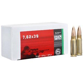 7,62x39 Geco Target FMJ 124grs - 50Stk