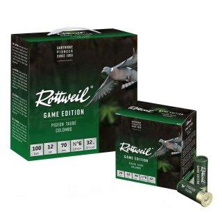 12/70 Rottweil Game Edition Taube 32g - 2,8mm - 100Stk
