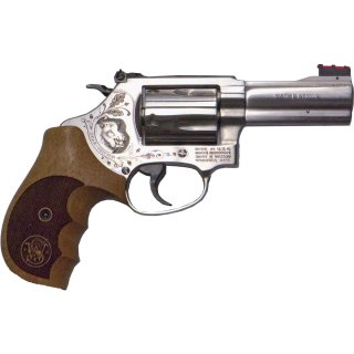 S&W Revolver Mod. 60 Boar Hunter - .357 Mag. stainless 3""