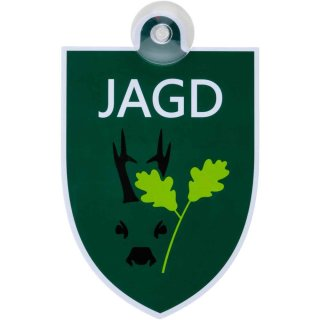 """Autoschild """"Jagd"""" - Waidgerechte Jagd"""