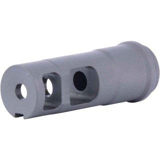 """2-Kammer Kompensator ½""""-28 UNEF  für A15 - .223 Rem./5,56x45mm"""