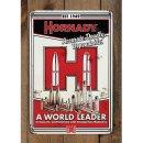 """Hornady Blechschild """"A World Leader"""""""