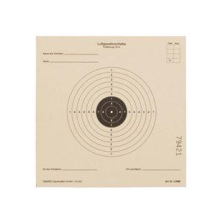 Umarex Luftgewehrzielscheiben 14x14